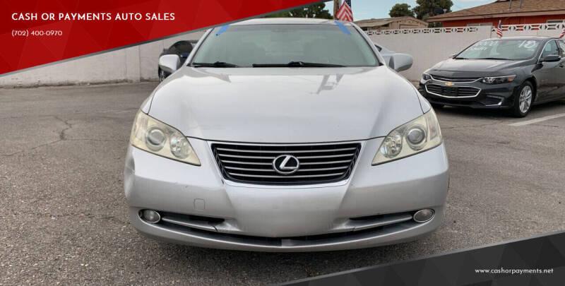 2008 Lexus ES 350 for sale at CASH OR PAYMENTS AUTO SALES in Las Vegas NV