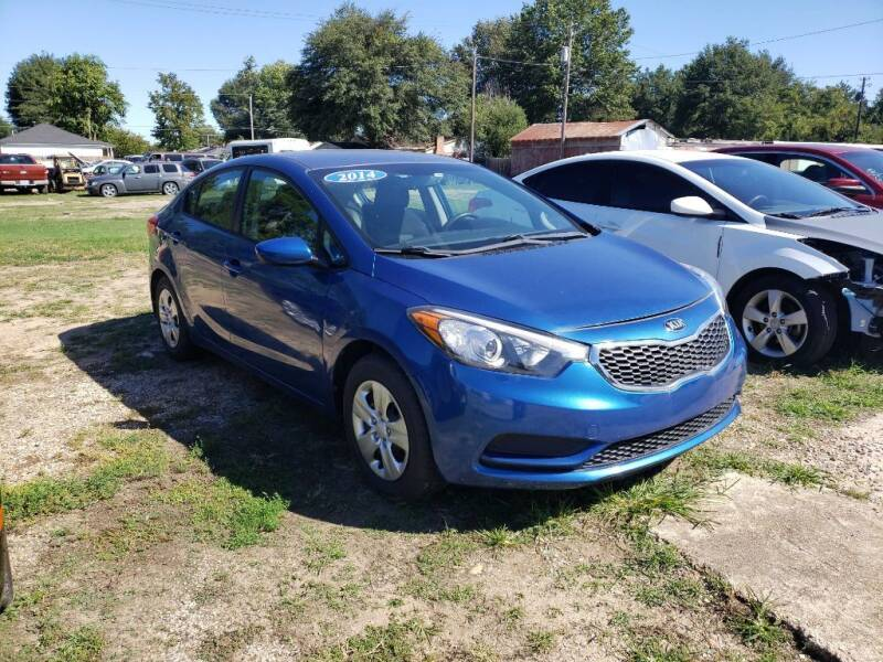 2014 Kia Forte for sale at RAGINS AUTOPLEX in Kennett MO