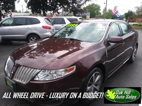 2009 Lincoln MKS for sale at Oak Hill Auto Sales of Wooster, LLC in Wooster OH