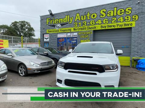 2019 Dodge Durango for sale at Friendly Auto Sales in Detroit MI
