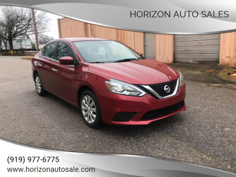 2017 Nissan Sentra for sale at Horizon Auto Sales in Raleigh NC