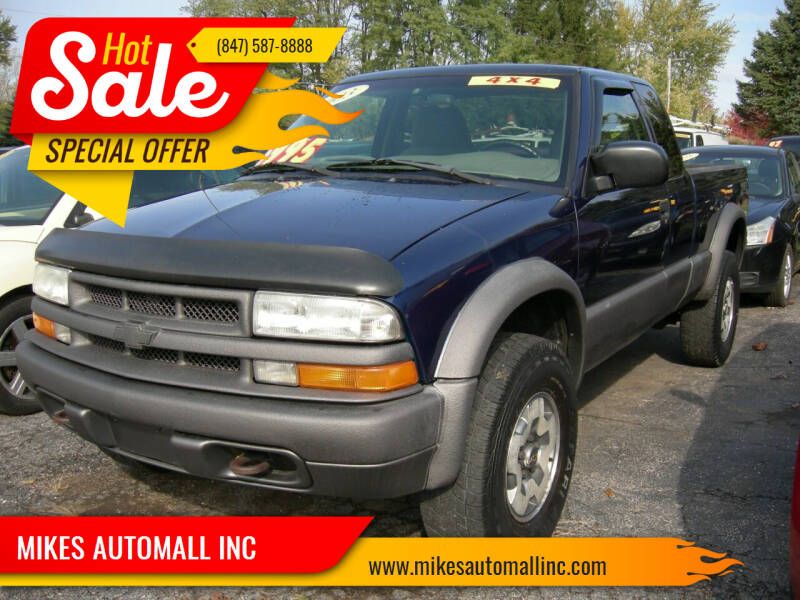 2003 Chevrolet S-10 for sale at MIKES AUTOMALL INC in Ingleside IL