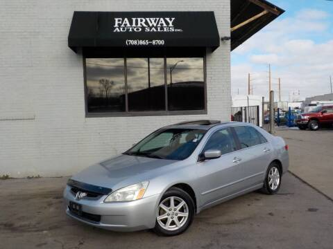 2004 Honda Accord for sale at FAIRWAY AUTO SALES, INC. in Melrose Park IL