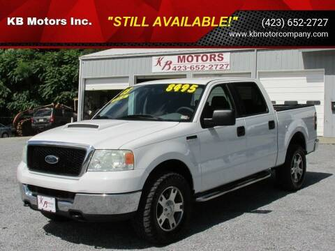 2005 Ford F-150 for sale at KB Motors Inc. in Bristol VA