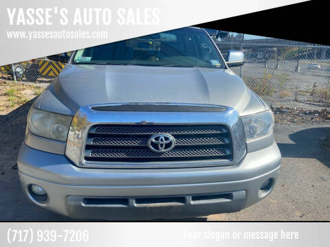 2008 Toyota Tundra for sale at YASSE'S AUTO SALES in Steelton PA