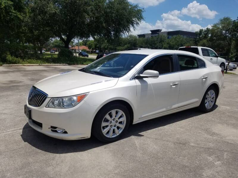 2013 Buick LaCrosse for sale at FAMILY AUTO BROKERS in Longwood FL