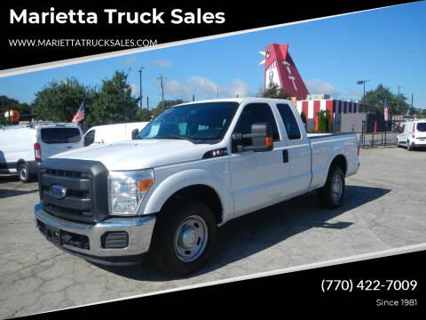 2015 Ford F-250 Super Duty for sale at Marietta Truck Sales in Marietta GA