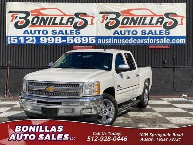 2013 Chevrolet Silverado 1500 for sale at Bonillas Auto Sales in Austin TX