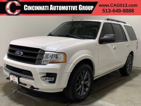 2017 Ford Expedition for sale at Cincinnati Automotive Group in Lebanon OH