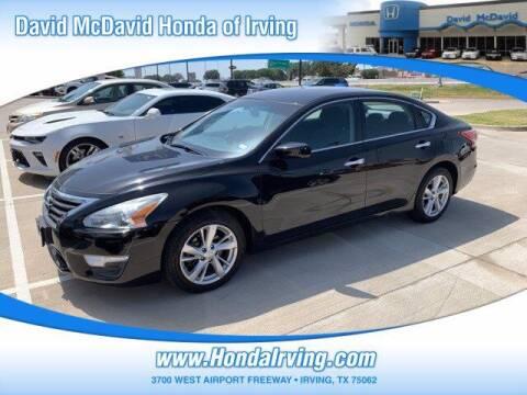 2013 Nissan Altima for sale at DAVID McDAVID HONDA OF IRVING in Irving TX