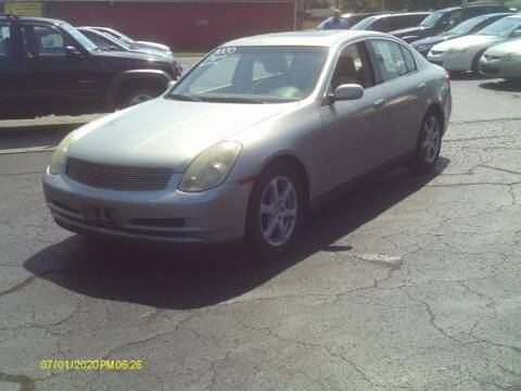 2003 Infiniti G35 for sale at Flag Motors in Columbus OH