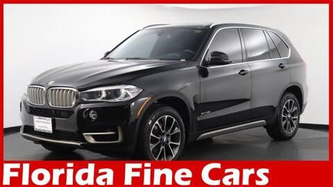 2018 BMW X5 for sale at Florida Fine Cars - West Palm Beach in West Palm Beach FL