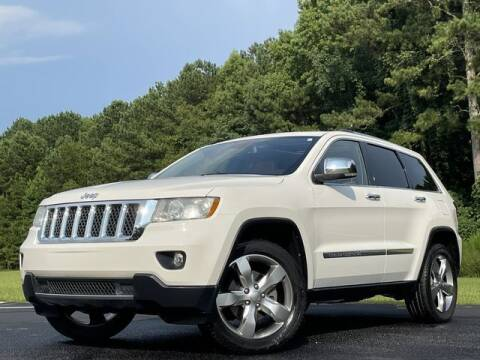 2012 Jeep Grand Cherokee for sale at Global Pre-Owned in Fayetteville GA
