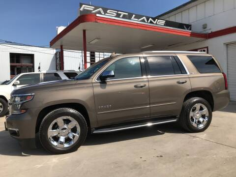 2015 Chevrolet Tahoe for sale at FAST LANE AUTO SALES in San Antonio TX