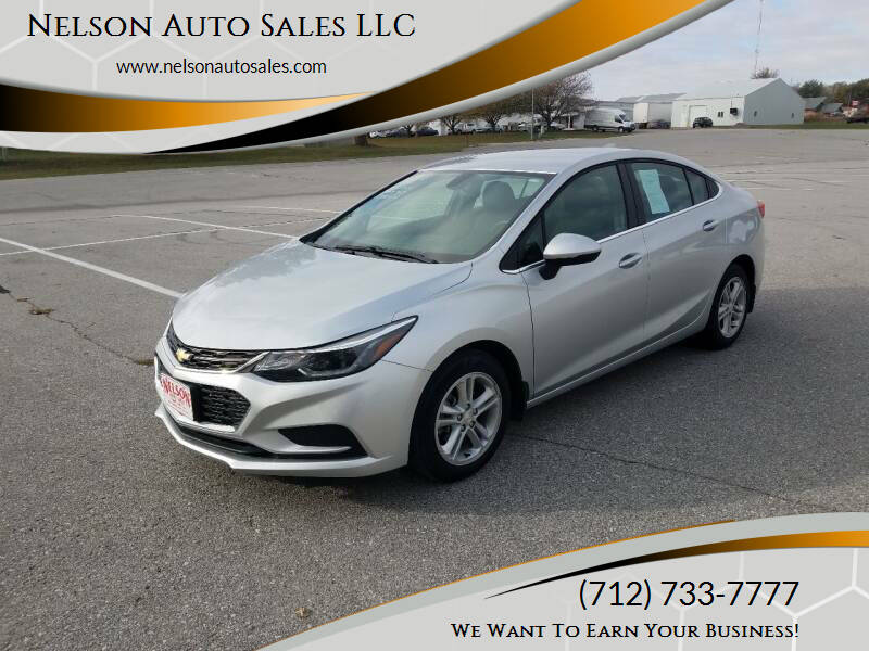 2018 Chevrolet Cruze for sale at Nelson Auto Sales LLC in Harlan IA