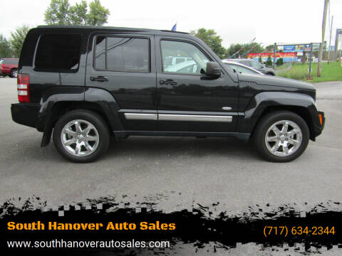 2012 Jeep Liberty for sale at South Hanover Auto Sales in Hanover PA