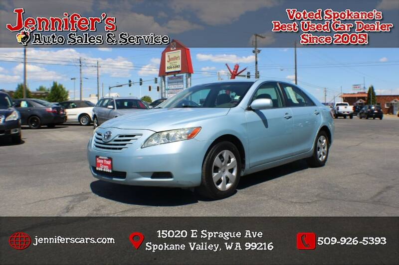 2009 Toyota Camry for sale at Jennifer's Auto Sales in Spokane Valley WA