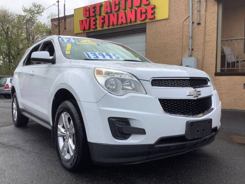 2012 Chevrolet Equinox for sale at Active Auto Sales Inc in Philadelphia PA