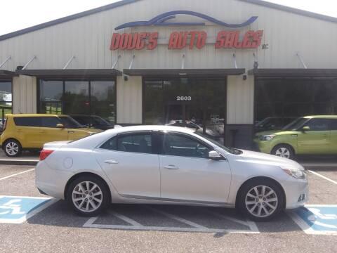 2014 Chevrolet Malibu for sale at DOUG'S AUTO SALES INC in Pleasant View TN