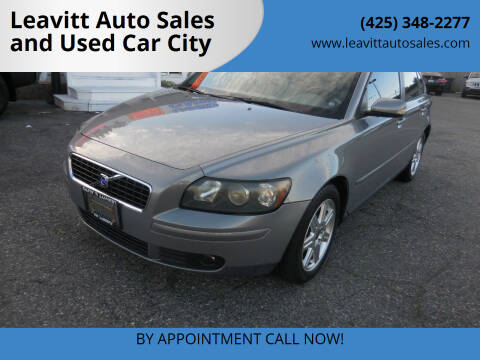 2004 Volvo S40 for sale at Leavitt Auto Sales and Used Car City in Everett WA
