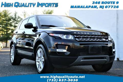 2015 Land Rover Range Rover Evoque for sale at High Quality Imports in Manalapan NJ