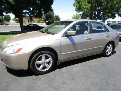 2004 Honda Accord for sale at KM MOTOR CARS in Modesto CA