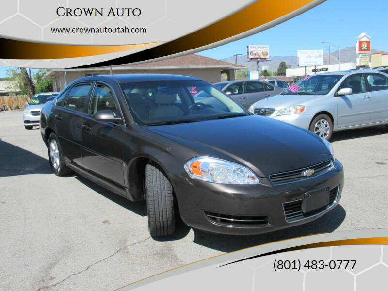 2009 Chevrolet Impala for sale at Crown Auto in South Salt Lake UT