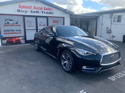 2017 Infiniti Q60 for sale at Speed Auto Sales in El Cajon CA