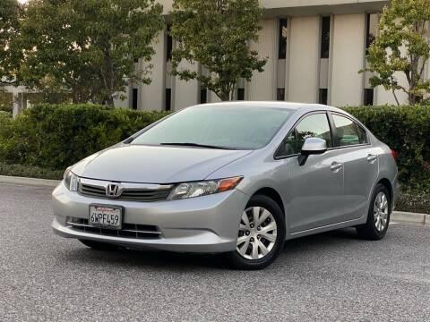 2012 Honda Civic for sale at Carfornia in San Jose CA