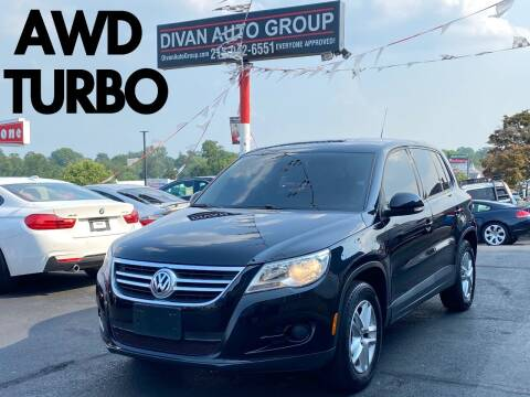 2011 Volkswagen Tiguan for sale at Divan Auto Group in Feasterville Trevose PA