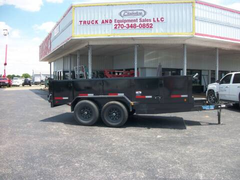 2020 Top Hat  Dump Trailer for sale at Classics Truck and Equipment Sales in Cadiz KY