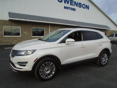 2016 Lincoln MKC for sale at SWENSON MOTORS in Gaylord MN