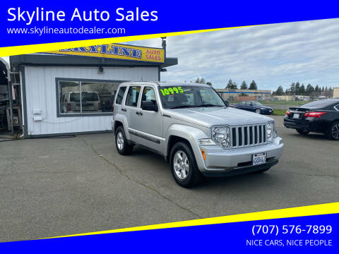 2012 Jeep Liberty for sale at Skyline Auto Sales in Santa Rosa CA