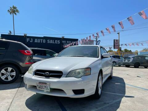 2006 Subaru Legacy for sale at Good Vibes Auto Sales in North Hollywood CA