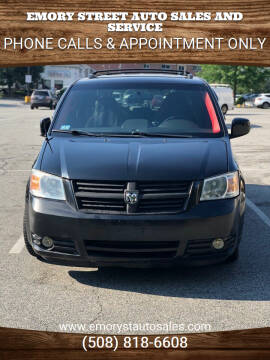 2010 Dodge Grand Caravan for sale at Emory Street Auto Sales and Service in Attleboro MA