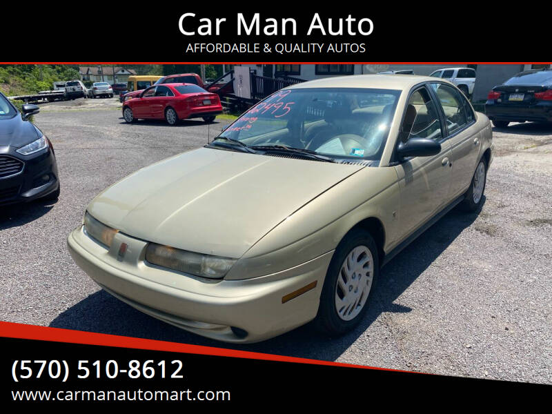 1999 Saturn S-Series for sale at Car Man Auto in Old Forge PA