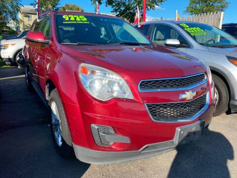 2011 Chevrolet Equinox for sale at GRAND USED CARS  INC in Little Ferry NJ
