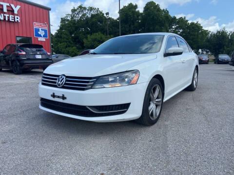 2014 Volkswagen Passat for sale at Space City Auto Center in Houston TX