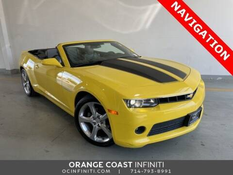 2015 Chevrolet Camaro for sale at ORANGE COAST CARS in Westminster CA