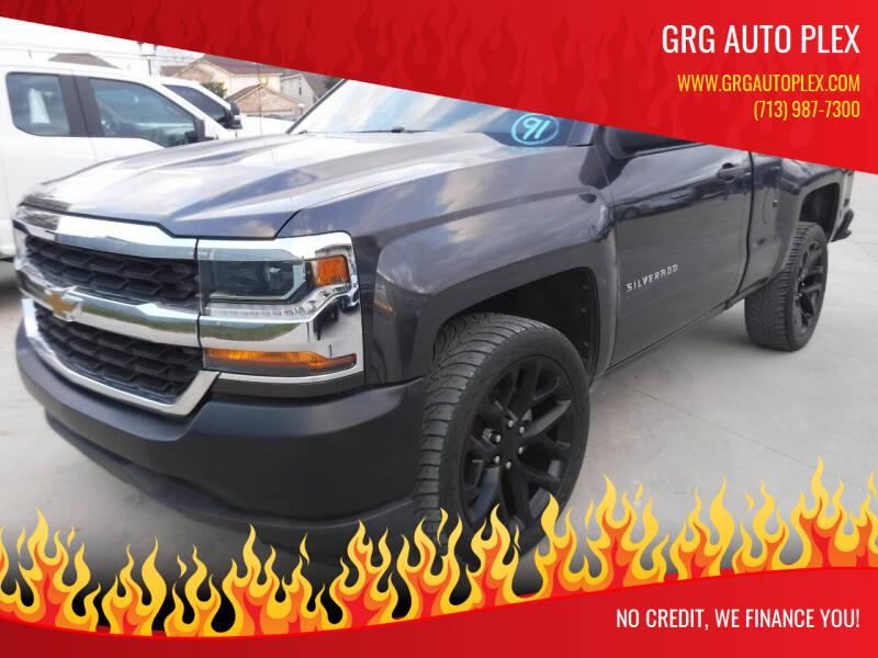 2016 Chevrolet Silverado 1500 for sale at GRG Auto Plex in Houston TX
