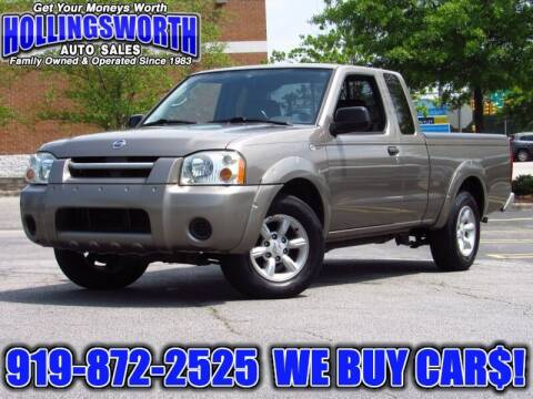 2004 Nissan Frontier for sale at Hollingsworth Auto Sales in Raleigh NC