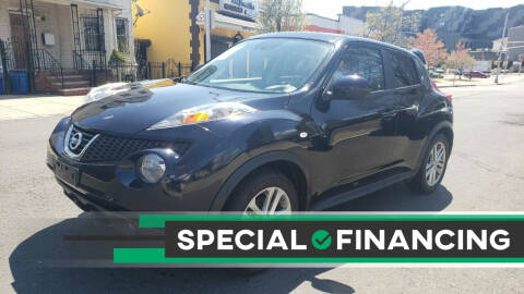 2013 Nissan JUKE for sale at JOANKA AUTO SALES in Newark NJ