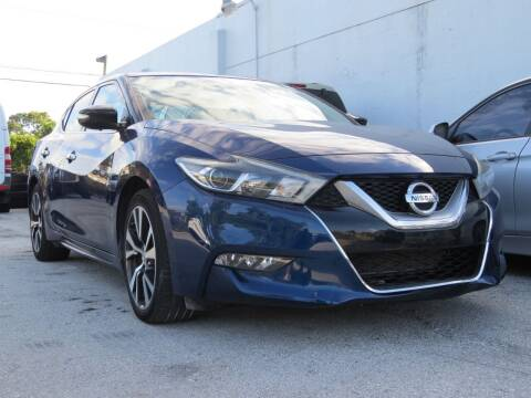 2016 Nissan Maxima for sale at DK Auto Sales in Hollywood FL
