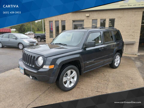 2014 Jeep Patriot for sale at CARTIVA in Stillwater MN