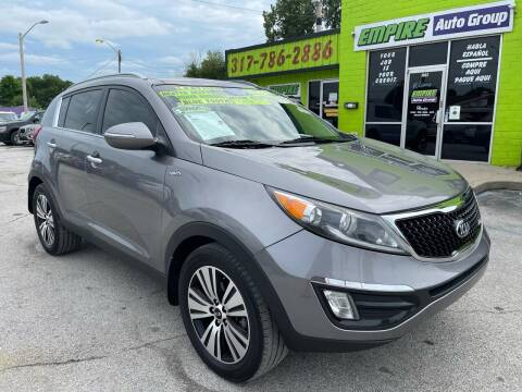 2014 Kia Sportage for sale at Empire Auto Group in Indianapolis IN