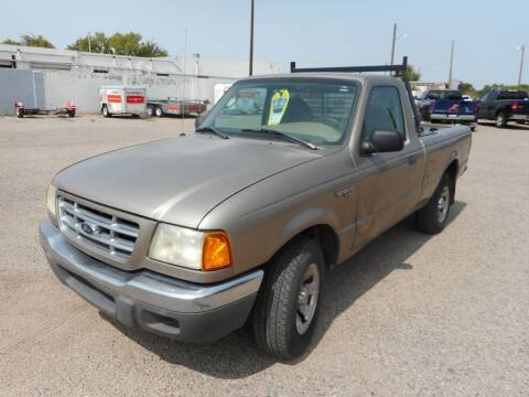 2003 Ford Ranger for sale at AUGE'S SALES AND SERVICE in Belen NM