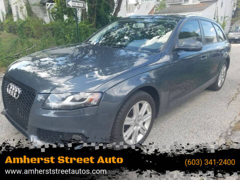 2011 Audi A4 for sale at Amherst Street Auto in Manchester NH