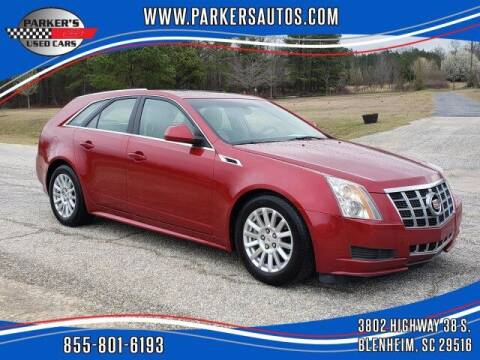 2012 Cadillac CTS for sale at Parker's Used Cars in Blenheim SC