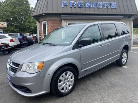 2014 Dodge Grand Caravan for sale at Premiere Auto Sales in Washington PA