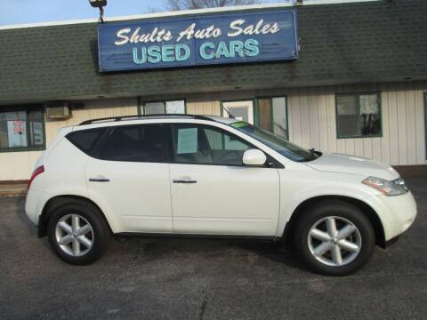 2003 Nissan Murano for sale at SHULTS AUTO SALES INC. in Crystal Lake IL